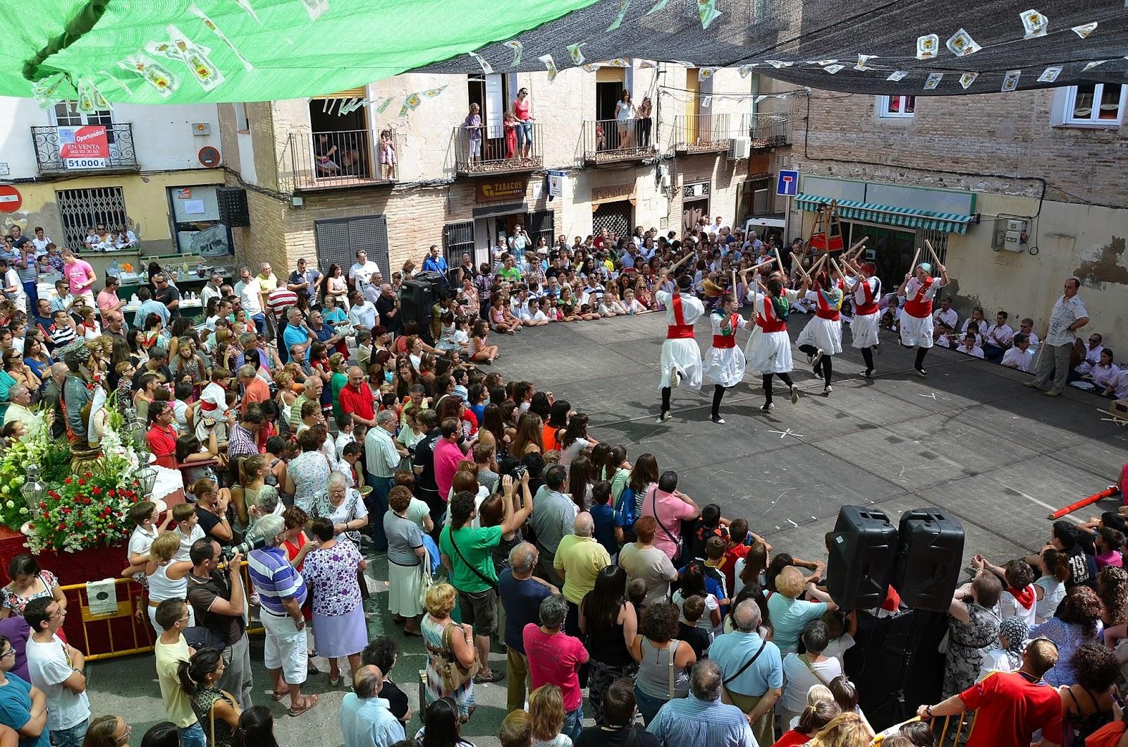 fiestas de San Bartolome 2018 en Borja